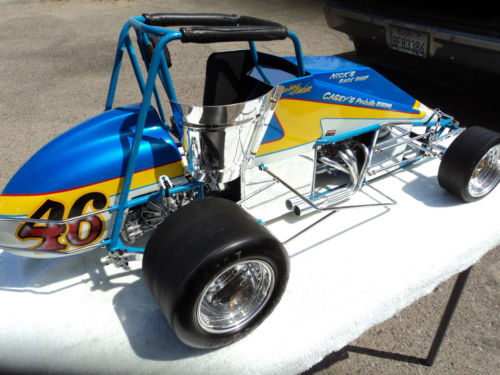 sprint car v8 conley bleu