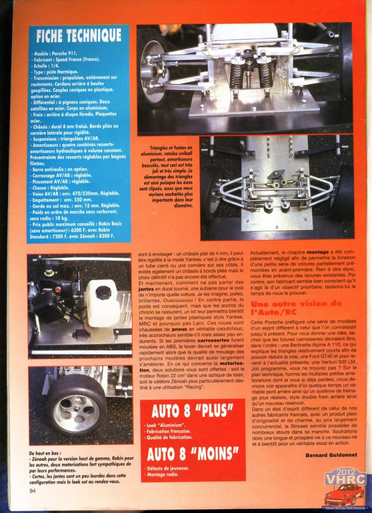 auto8 article strosek dans auto8 #99 avril 1994