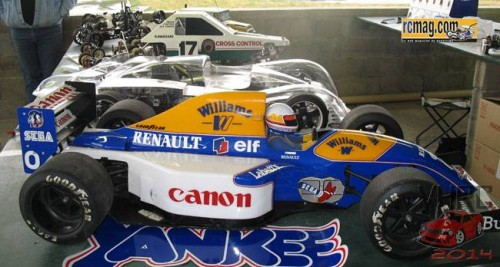 F1 yankee  94 nez bas Williams FW14 FW15