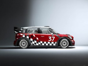 mini countryman WRC 2011