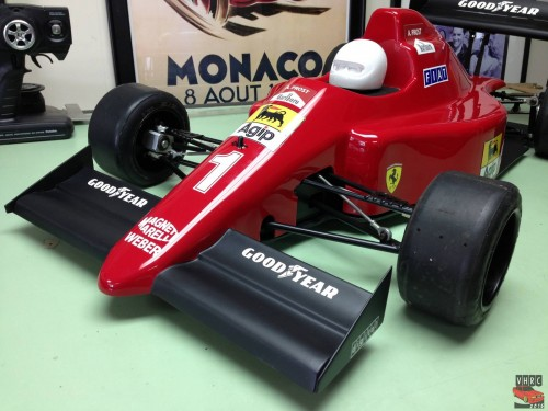 Savo Engineering official Alain prost Ferrari R/C F1 car 1/4 scale